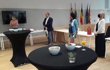Lions Club Kontich was op de viering vertegenwoordigd door Erik Van de Sande, bestuurslid