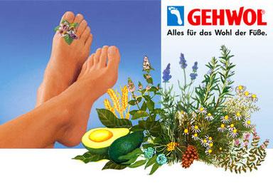 Pflegeprodukte der Firma Gerlach - eine Wohltat für die Füße