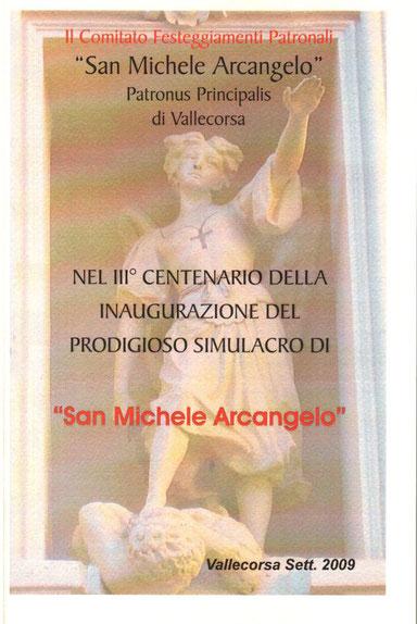 Ristampa in occasione del Centenario 2009 Libro del 1909: Nel Secondo Centenario di Don Valeriano Ferracci