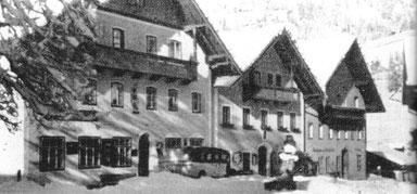 """Adis Elternhaus: Der Gasthof """"Zur Post"""" in Wagrain anno 1939"""