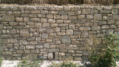 murature di pietrame grezzo - muro a secco