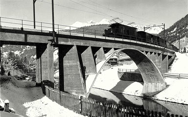 Phot. Berni Photohaus Klosters, gestempelt 29.01.1935
