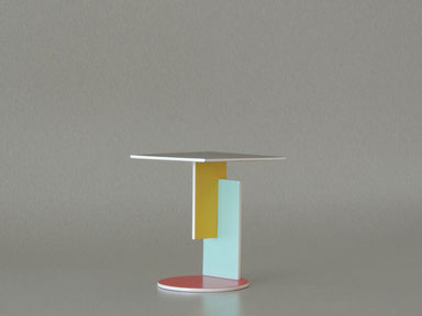 Burgman end table, Miniaturtisch von Rietveld
