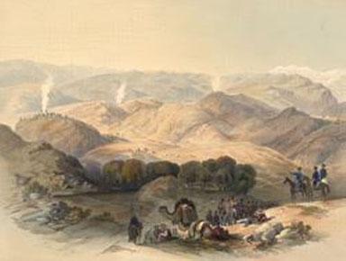 نقاشی جگدلک سال ۱۸۴۲
