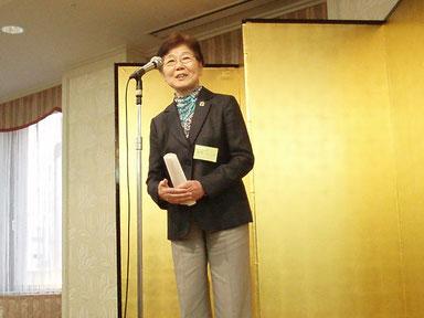 松崎綠生会長の挨拶