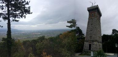 Wunderbare Ausblicke von der Jubiläumswarte am Harzberg