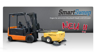 Die next generation Reinigung . SMARTSWEEP