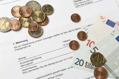 Schuldnerberatung - 1.Mahnung