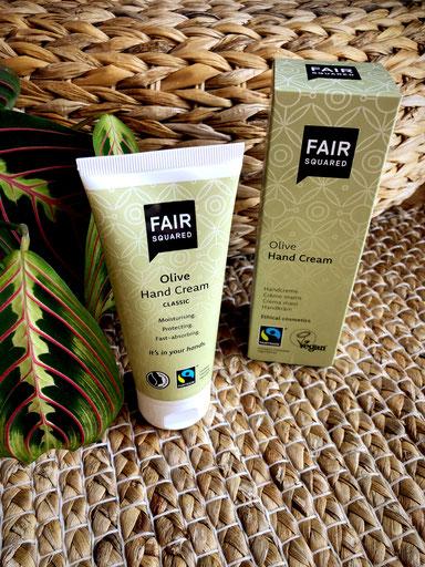 Fair Squared - ethical cosmetics - Hand Cream Classic Olive