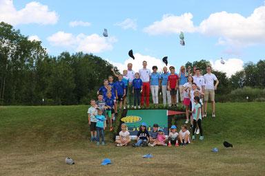 Gruppenbild Golf Jugend Bayreuth