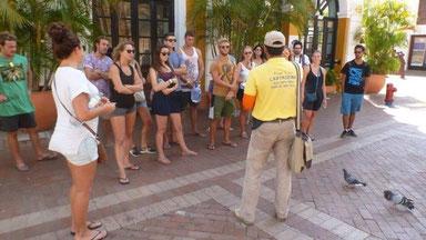 Bild: Die Gruppe meiner Free-City-Walking-Tour
