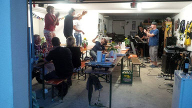 Garagen-Party Aug '14