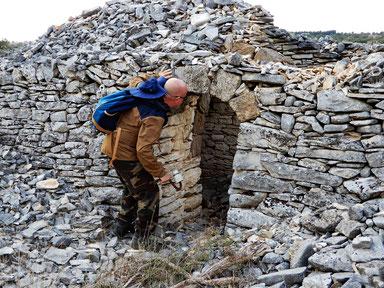 Le casedde intorno a Castel del Monte, Andria (BT)