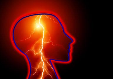 「閃輝暗点のみで頭痛なし」の症例について。