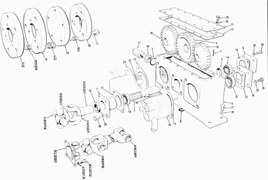 champion les machineries st amant inc hydraulic pump gear box parts