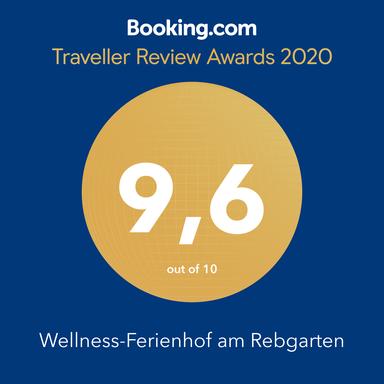 Die booking.com-.Auszeichnung 2018