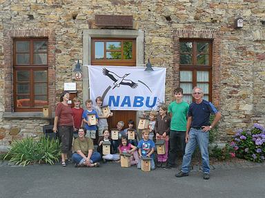 NAJU-Ferienakademie 2013: Nistkastenbau am Naturschutzzentrum