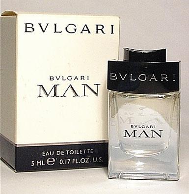 BVLGARI MAN - EAU DE TOILETTE POUR HOMME 5 ML