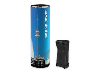 Tower, Pop-Up Tower, Messeausstattung