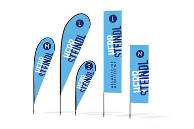 Beachflags, Flyflags für Events und Veranstaltungen