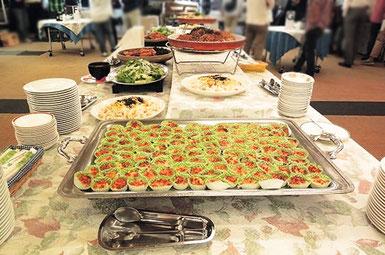 横浜 関内 ホテルグランドサン横浜 ご宴会 立食パーティー