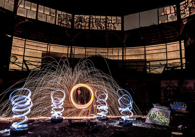 light painting composition