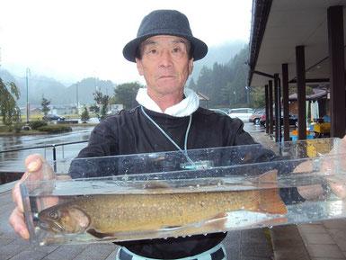飛騨あさひ年間釣りグランプリ アマゴの部渓流王ハルック50様