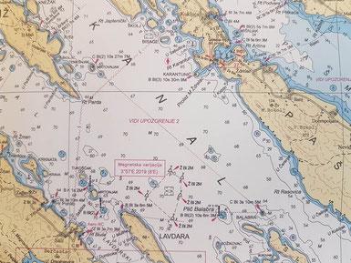 küstenpatent bootsführerschein yachtführerschein boat skipper kurs prüfung zadar fernkurs fernstudium deutschsprachig
