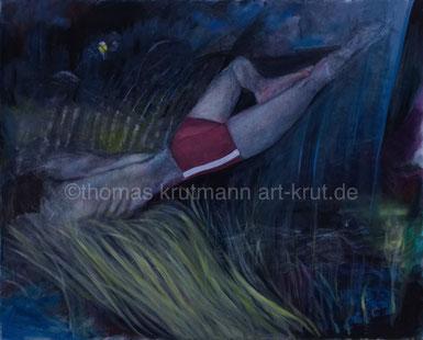 die rote Badehose, Thomas Krutmann