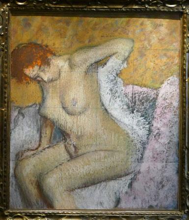 Edgar Degas (1834-1917) : après le bain