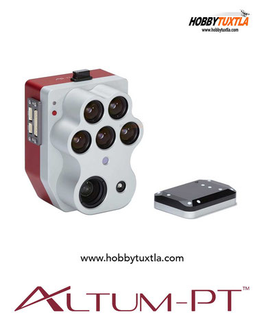 Altum Micasense es un sensor térmico radiométrico con 5 bandas espectrales ideal para análisis serios de percepción remota