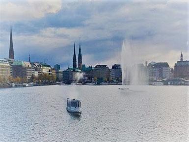 Hamburg by Rickshaw - Binnen & Außenalster