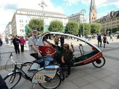 Hamburg by Rickshaw - Gutschein