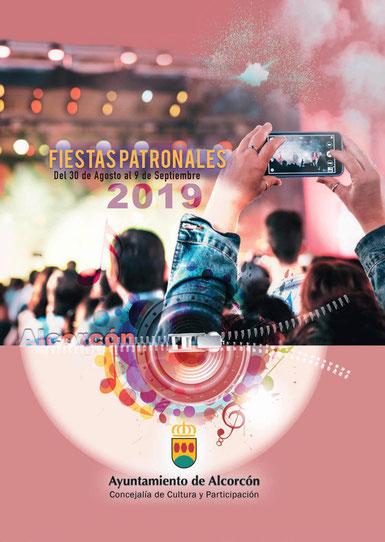 Programa de las Fiestas de Alcorcón 2016
