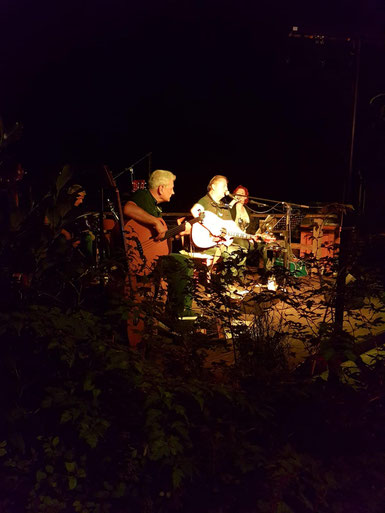 Rudi Baumman  & Friends Unplugged, Seebühne Piusheim, August 31, 2019