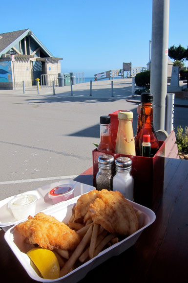 Duckie's Chowder House in Cayucos Highway 1