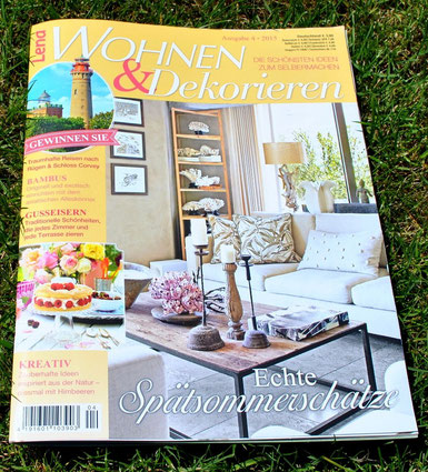 lena wohnen dekorieren landhausidyll gartenkeramik. Black Bedroom Furniture Sets. Home Design Ideas