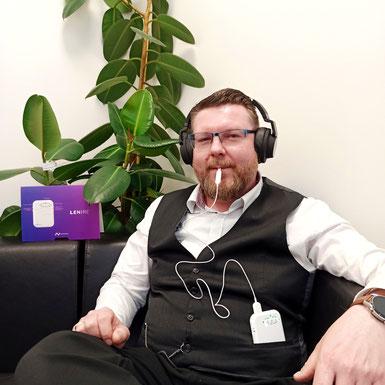 Stefan Reimann LENIRE Tinnitus Hörgeräteakustiker