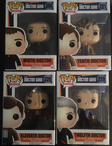 1 von 4 Doctor Who FunkoPOP! Figuren