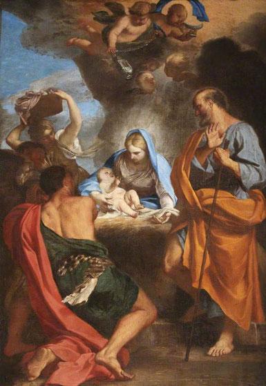 Carlo Maratta-l'Adoration des bergers- Oxford-St Anna's college-cliché internet