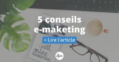 article suivant 5 conseils e-marketing