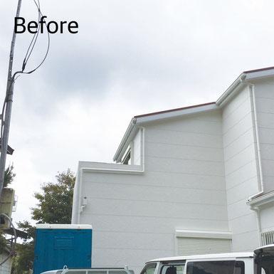 神戸市北区 テラス屋根設置 Before マスタードリフォーム