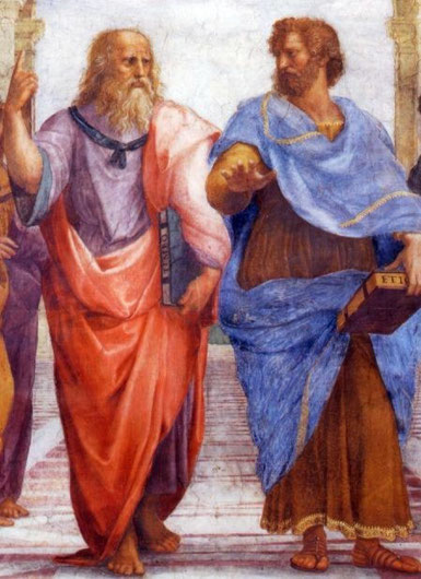 Raffael, Platon und Aristoteles