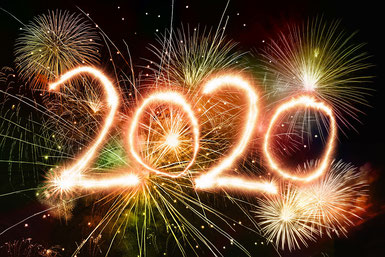 Wir feiern zusammen das neue Jahr