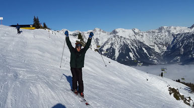 Skiing Schladming