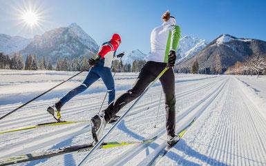 Langlauf Schifahren Ramsau am Dachstein