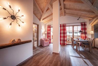 Wohnzimmer Ferienwohnung Kranzhorn