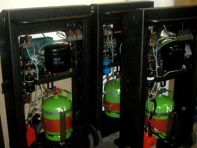riparazioni stazioni ricarica refrigerante