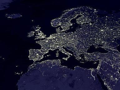 """Europa bei """"Nacht"""""""