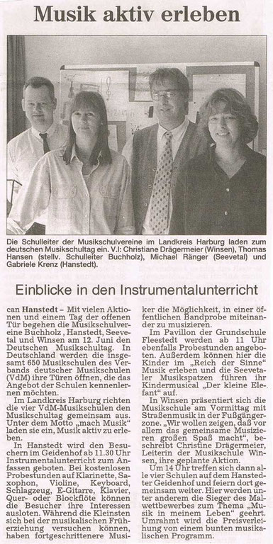 Harburger Rundschau 03.06.1999